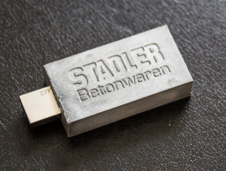 usb stick beton
