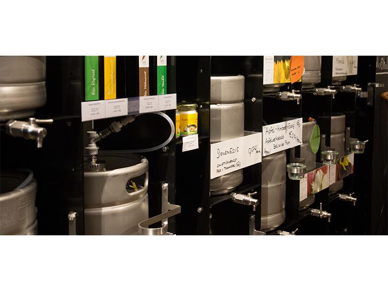 fluid bin system